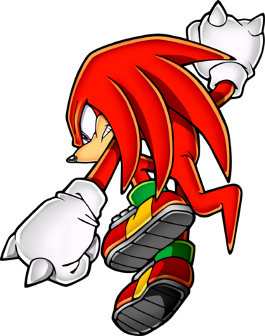 File:Sonic Art Assets DVD - Knuckles - 3.png