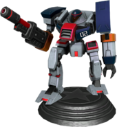 Sonic Generations Gun Hunter Statue