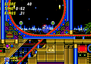 Automatic pinball loop sonic 2