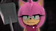 Amy angry