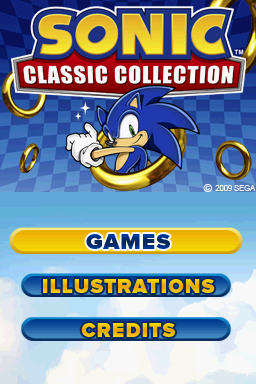 File:Sonic Classic Collection Title.png