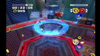 Sonic Heroes Team Sonic vs