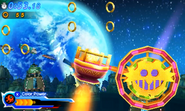 Red Burst Wheel shot Sonic Generations