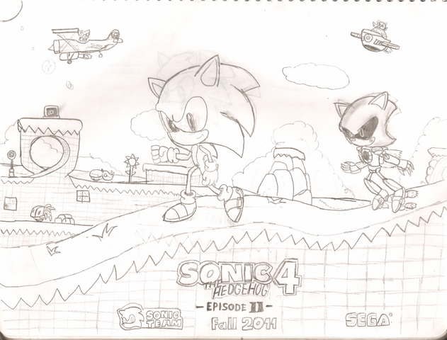 File:Sonic 4 Episode 2 Fan poster.png