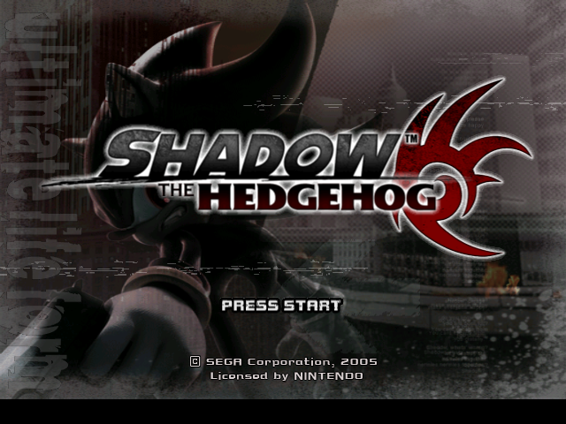 File:Shadow the Hedgehog Title Screen.png