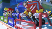 Mario & Sonic at the Olympic Winter Games - Opening - Screenshot 8