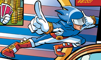 Sonic Man human archie