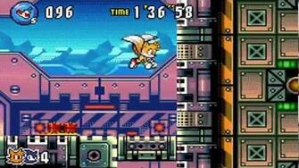 Sonic Advance 3 - Zone 3 Ocean Base - Act 1 2 3 & VS Boss
