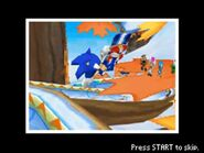 Sonic in Halfpipe