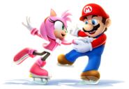 Mario and Amy Sochi 2014