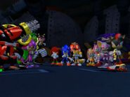 Sonic Heroes Cast