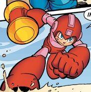 Piko Hammer Mega Man
