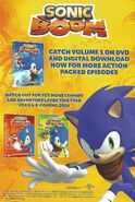 Sonic Boom DVD Advertisement