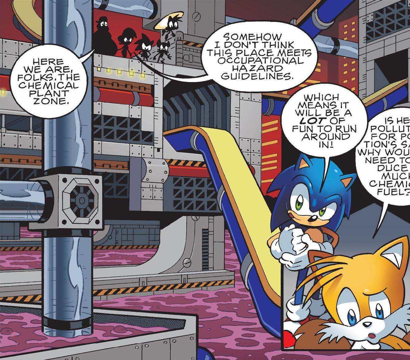 Chemical Plant Zone Pre Super Genesis Wave Sonic News