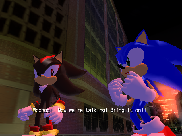 File:Sonic and Shadow vs Black Bull.png