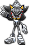 Sonic Rivals 2 - Shadow the Hedgehog costume 4