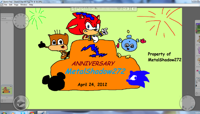 File:ONE FULL YEAR ON SNN Property of MetalShadow272.png