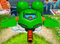Heroes green flapper