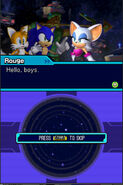 Rouge - Sonic Colors intro