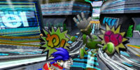 Attacks in the Sonic Riders series