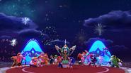 Mario & Sonic 2014 - Ending