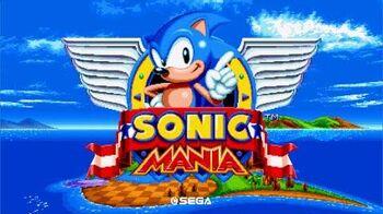 Sonic Mania - 25th Anniversary Debut