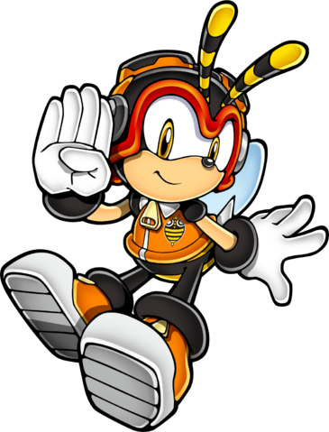 File:Sonic Art Assets DVD - Charmy.png