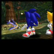Sonic Adventure Credits (Super Sonic 03)