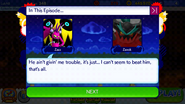 Sonic Runners Zazz Raid event Zavok Cutscene (3)