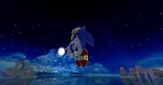 Sonic Dash a noite