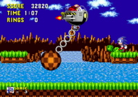 Sonic vs Eggman round 1