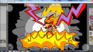 Super Lightning Transformation By Metal