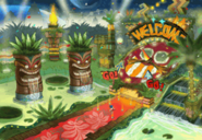 Tropical Resort Zone Artwork 2
