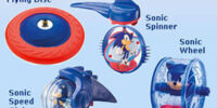 McDonald's Sonic Spinner Collection