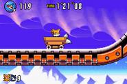 Minecart Sonic Advance 3
