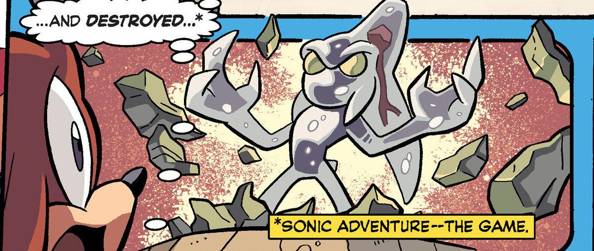 Sonic Adventure History
