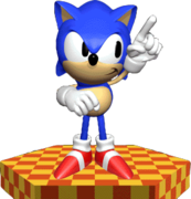 Sonic the Hedgehog - 3D Render