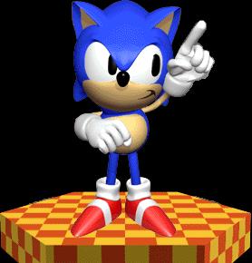 File:Sonic the Hedgehog - 3D Render.png