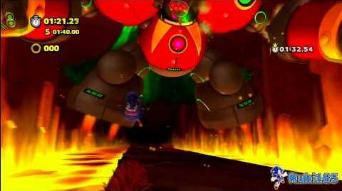 Sonic Lost World Lava Mountain 4 Time Attack - 01 30