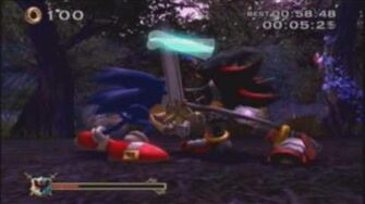 Sonic and the Black Knight - Lancelot Returns 5 Stars Beating the Sword Clash at the end