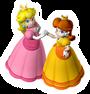 Peach and Daisy 2