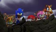 Final Boss Cutscene Team Sonic