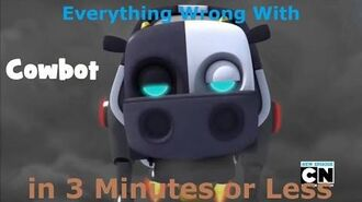 (Parody) Everything Wrong With Sonic Boom - Cowbot in 3 Minutes or Less