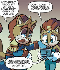 Sally Names Nicole