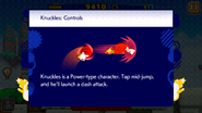 Sonic Runners Knuckles Controls