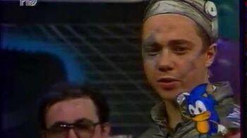 """Телепередача """"Соник - супер ёжик"""". 1994 год"""