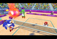 Volley London2012 Screenshot 1(Wii)