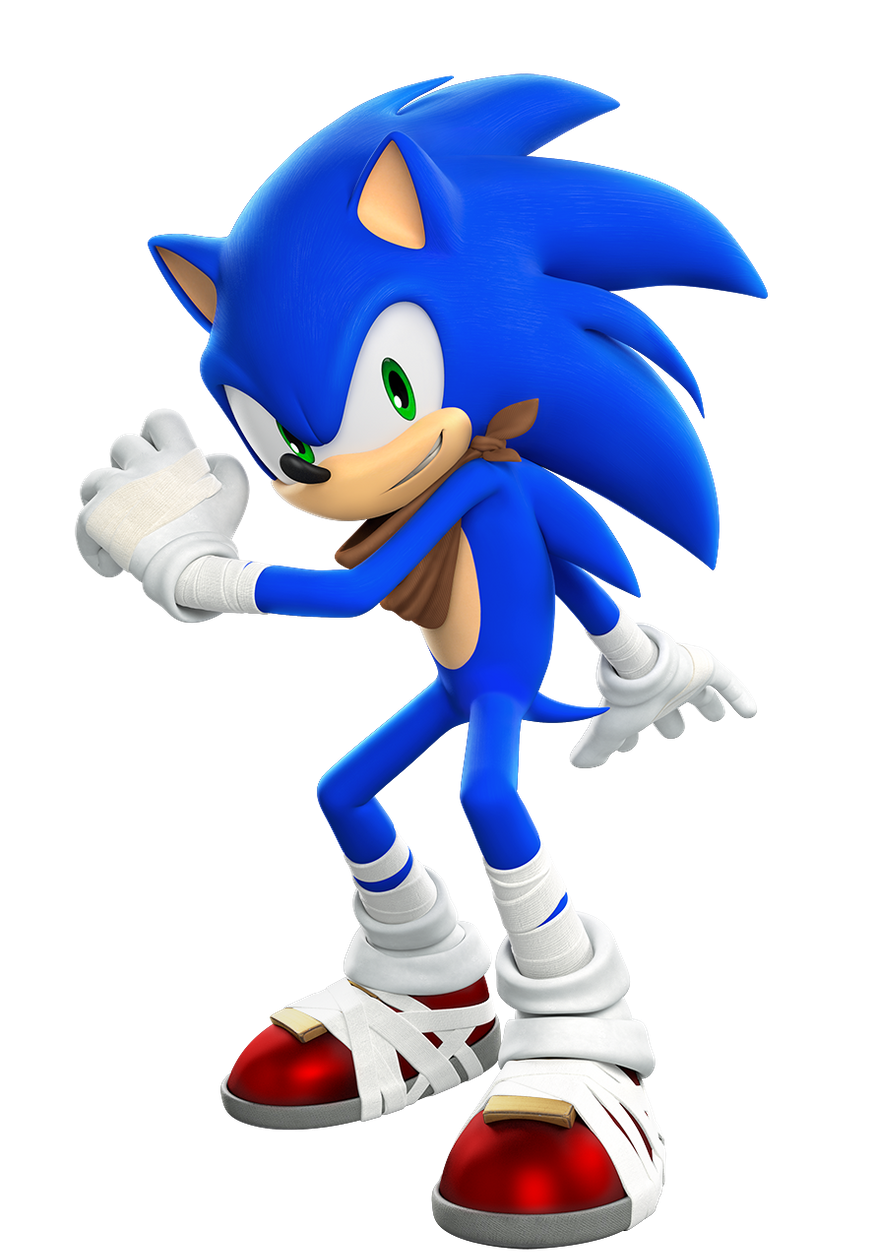 Sonic CGI Render Promotional (Sonic 06) by Thespeedforce3 on ...