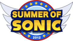 The Summer of Sonic 2012 Logo