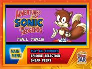 Tall-Tails-Menu-screen